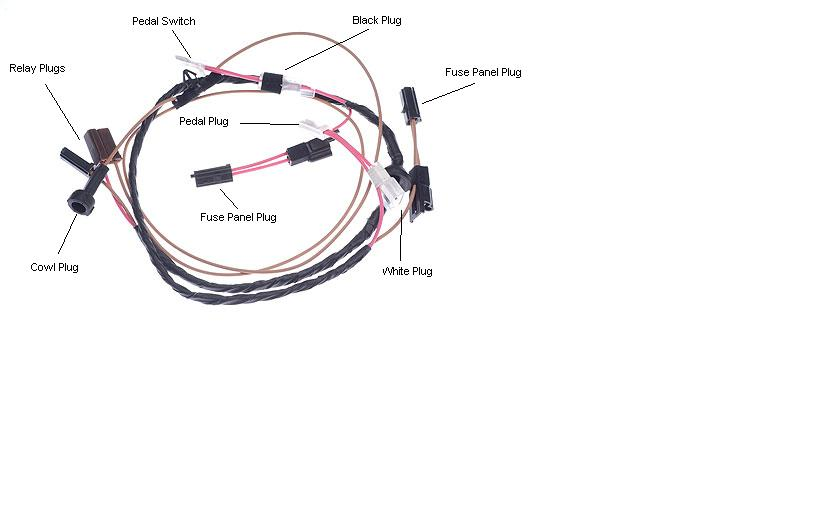 70 chevelle cowl induction harness question - chevelle tech, Wiring diagram