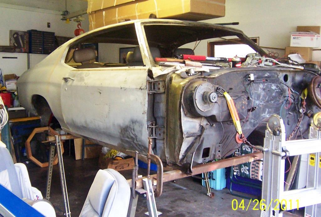 1970 Malibu / Chevelle LS1 conversion build. - Chevelle Tech