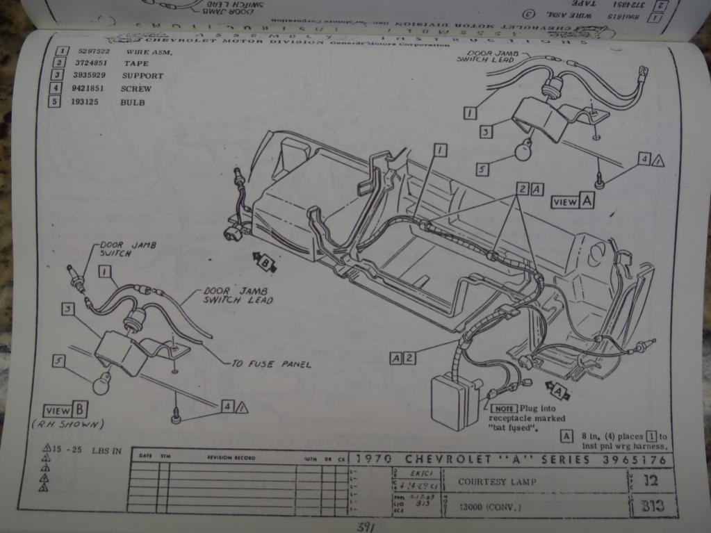 [SCHEMATICS_48EU]  Courtesy light wiring...help | Chevelles.com | Gm Courtesy Light Wiring Diagram |  | Chevelles.com