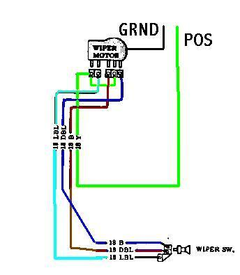 wiper motor wiring diagram toyota wiring diagram windshield wiper motor wiring diagram ford and