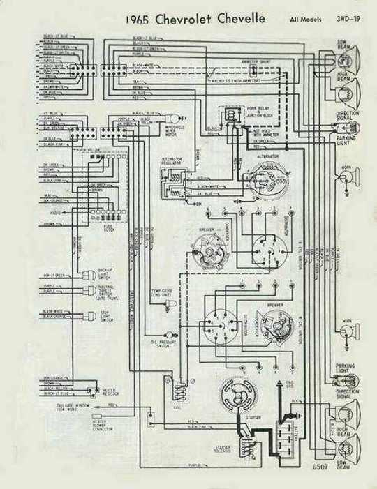 65 Not Starting | Team Chevelle | 1965 Chevelle Engine Wiring Diagram |  | Team Chevelle