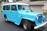 1953 Willys Overland Wagon