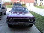 1967 Chevrolet Malibu coupe