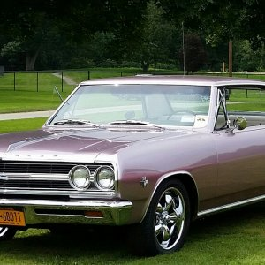 1965 Malibu SS Evening Orchid