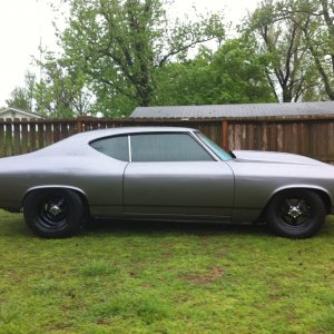 Black Death 1969 Chevelle