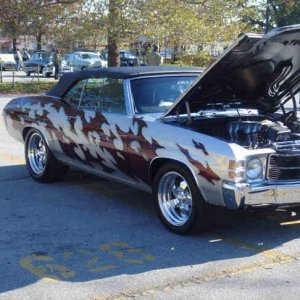 71 Chevelle SS Convertible - Custom Airbrush #2