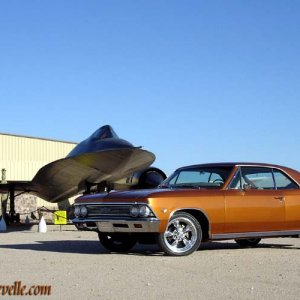 66 Chevelle with SR-71 Blackbird
