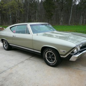 1968 Nickey Chevelle SS396