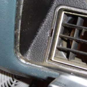 Slotted holes in 72 Monte SS dash