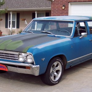 "1967 Malibu Wagon - ""Sally"""